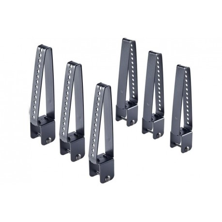 CRUZ Load Stops 18cm HIGH 35x35 mount- set 6