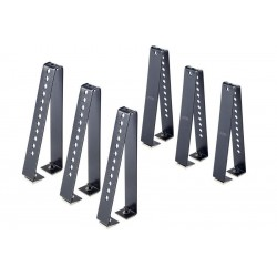 CRUZ Load Stops 18cm HIGH T-Track- set 6