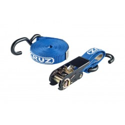 CRUZ Ratchet Strap - one x 5m strap with S-hooks