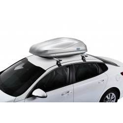 CRUZ Roof Box ROAD 370GT Grey textured