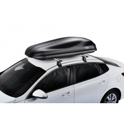 CRUZ Roof Box ROAD 460NT Black textured