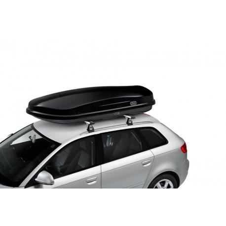 CRUZ Roof Box PADDOCK 400N Black glossy