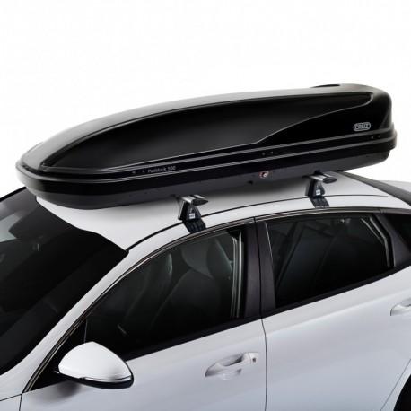 CRUZ Roof Box - DUAL OPENING - 500L Paddock BLACK