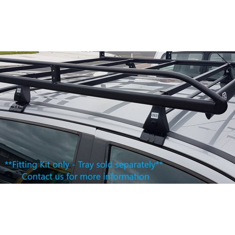 CRUZ Roof Tray Fitting Kit for Nissan Navara 2015 on