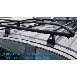 CRUZ Roof Tray Fitting Kit for Toyota Hilux double cab 2016 on