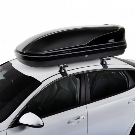 CRUZ Roof Box - DUAL OPENING - 450L Paddock BLACK