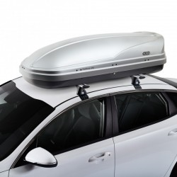 CRUZ Roof Box - DUAL OPENING - 450L Paddock GREY