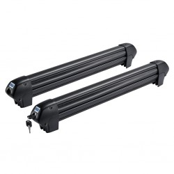 CRUZ Ski/Snow/Rod Carrier - (Premium large size) - Dark Finish