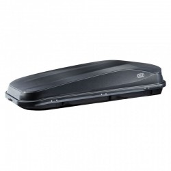CRUZ Easy Roof Box - 480L Gloss Black - EXTRA LONG ROOF BOX